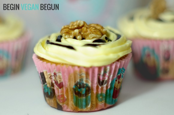 imagen de cupcakes frutos secos veganos